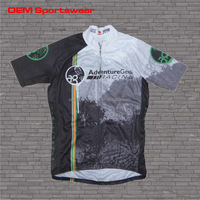 Gym wear 100 polyester cycling jersey man