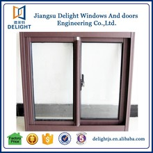 Classic simple design transom fan sliding window with low e glass
