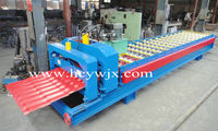 Roofing Glazed Tile Color Steel Sheet Roll Forming Machine