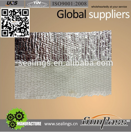 Fire Resistant Insulation Fireproof Aluminium Foil Ceramic Fiber Tape