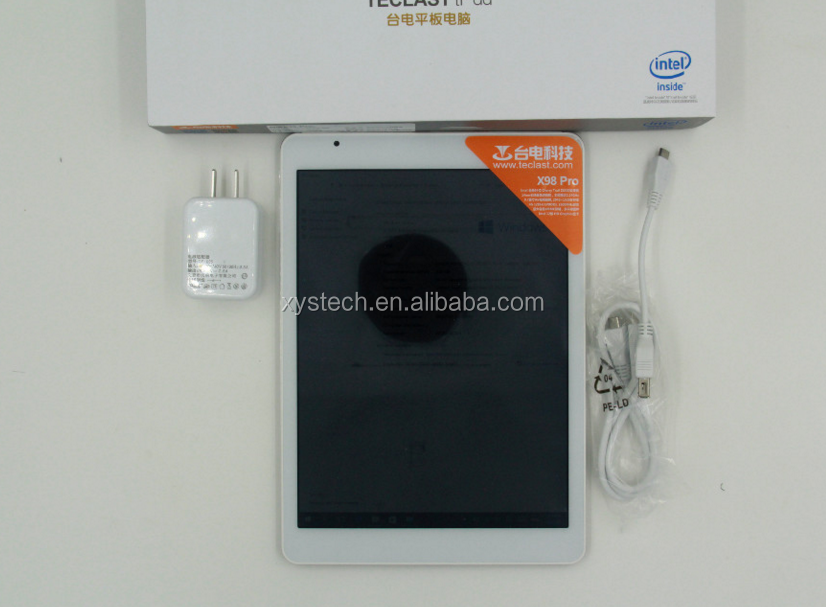9.7 inch Teclast X98 Air 3G Tablet PC Android 4.4+Wind 8.1 2+32GB/64GB free shipping