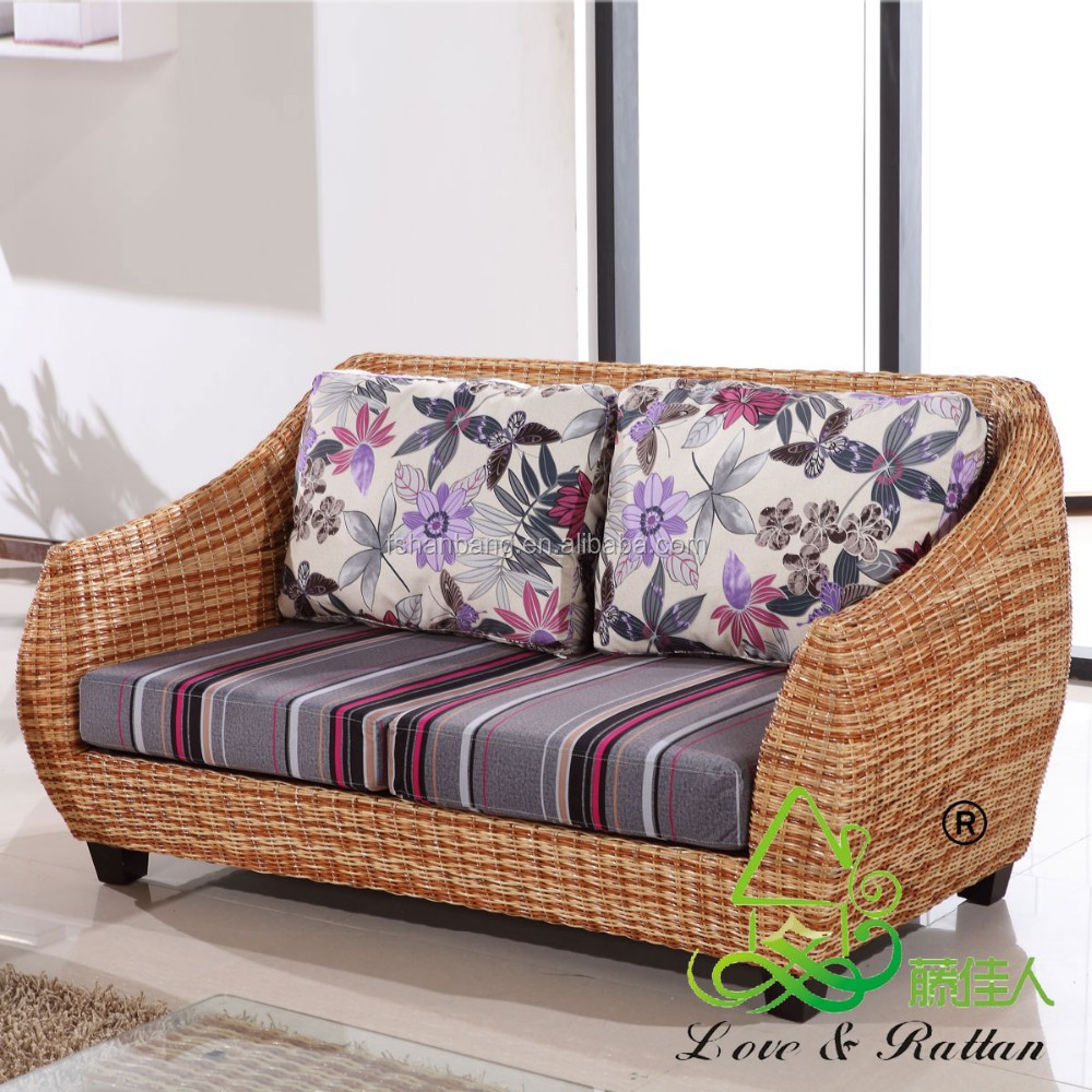 High quality modern luxury balcony sunroom wicker indoor for Wicker and rattan indoor furniture