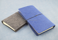 wool felt cover Travel journal and