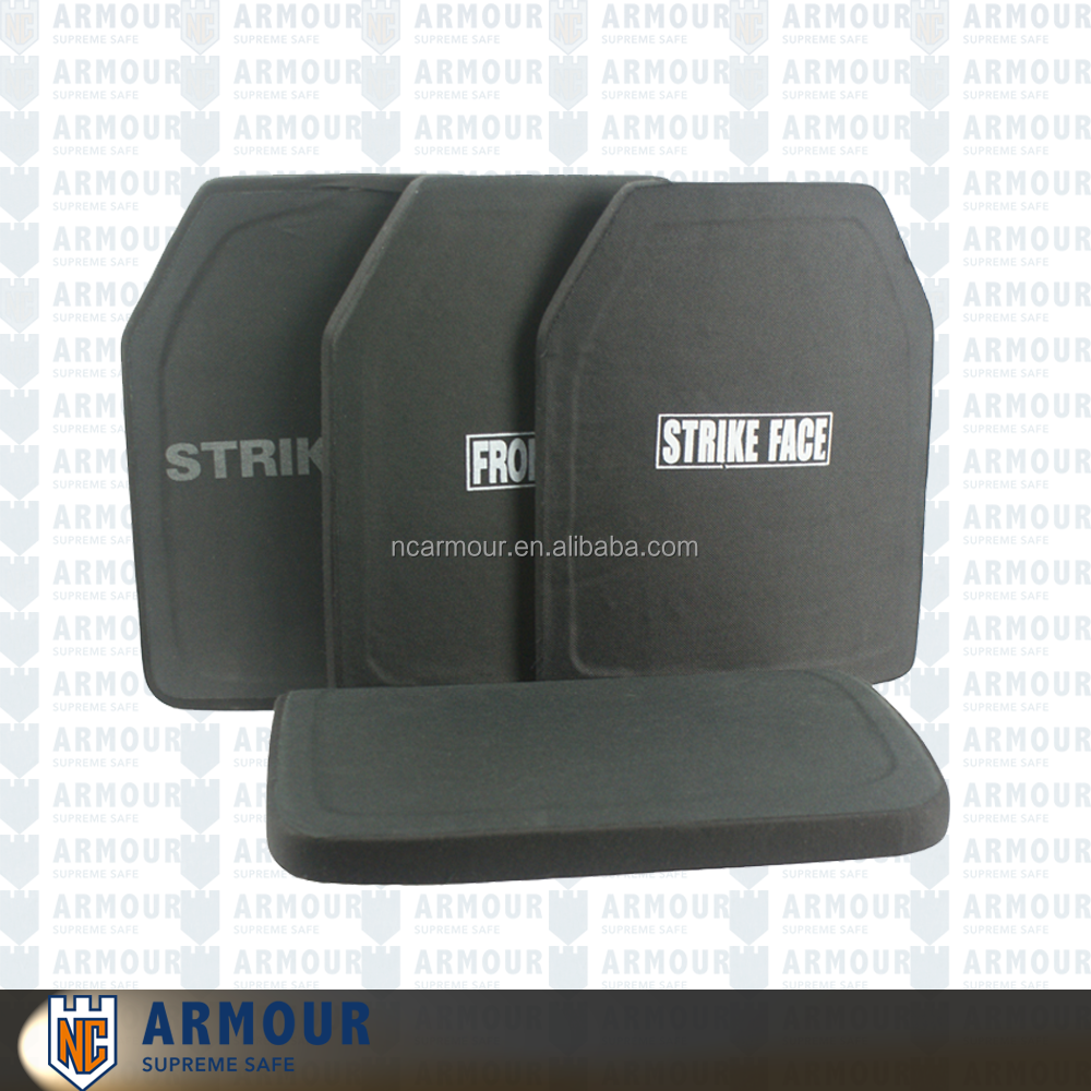 Stand alone Hard Armor ballistic panel plate