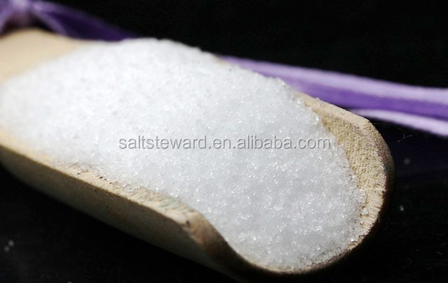 Top grade white crystal, rock salt supplier in China