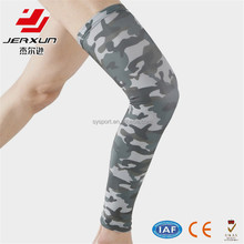 Custom long knee brace compression knee pad for sport