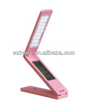 Mini reading lamp with digital clock OEM logo