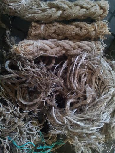 PP SHIP ROPE SCRAP