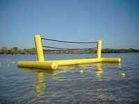 CILE Inflatable Water Football Goal for Summer