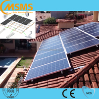 pitched roof home solar panel kit