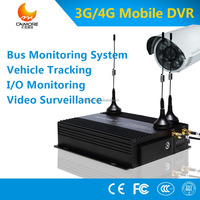CCTV 3G 4G GPS WIFI h.264 720p 1080p HD mini 4ch taxi mobile dvr/NVR