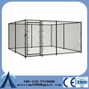 heavy duty black dog kennels two doors large animal cage