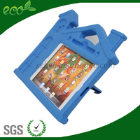 new coming shockproof convertible stand house shape EVA tablet case for ipad mini