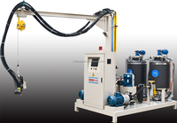 Leader High pressure foaming machine for Foam surfboard
