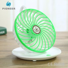 coffee cup designed portable mini fan 90 degree rotary speed control usb desk fan wall hanging electric air blower fan