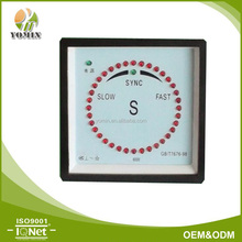 Manufacturer Three Phase Synchroscope Meter , Analog Panel Meter 96*96 .