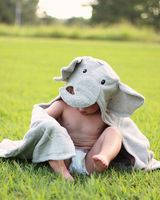 baby towel elephant baby hooded towel bath 100 cotton