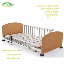 Home care furniture,KS-888b Type Electric super low position bed,elderly furniture