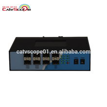 CATVSCOPE Industrial-Grade Mini Four Ports PONS GEPON Network OLT serve 256 users