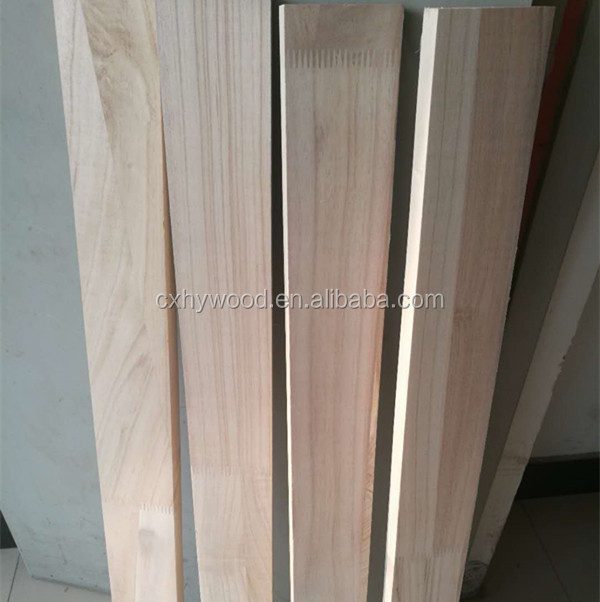 FSC Paulownia Finger Jointed Boards Furniture Wood