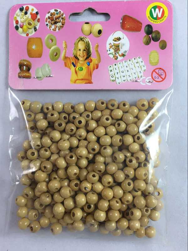 Wanfeng nice price wooden beads for new crystal plaque stand