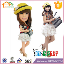 Factory Custom made best home decoration gift resin polyresin realistic wax figure