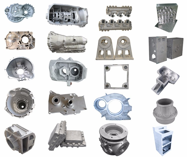 China Advanced Technology Process Low Pressure Gravity Die Aluminium Foundry Casting