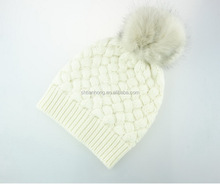 Best quality excellent performance cute knitting hat for young girls