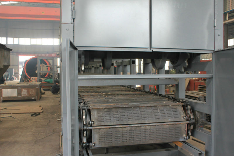 coal, coke, slag, sludge, FGD gypsum belt dryer manufacturer in metallurgy