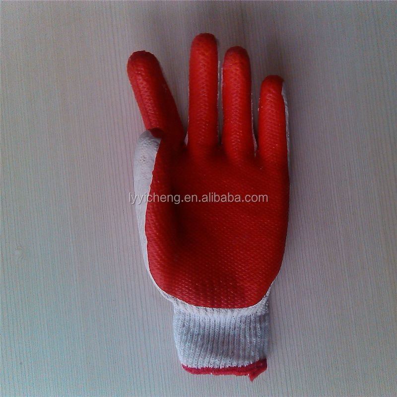 rubber coated cotton glove/dammam saudi arabia