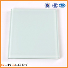 6mm thick Frosted Sandblast Translucent Obscure Laminated Glass