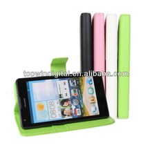 Wallet Leather Case For Ascend G700 Huawei