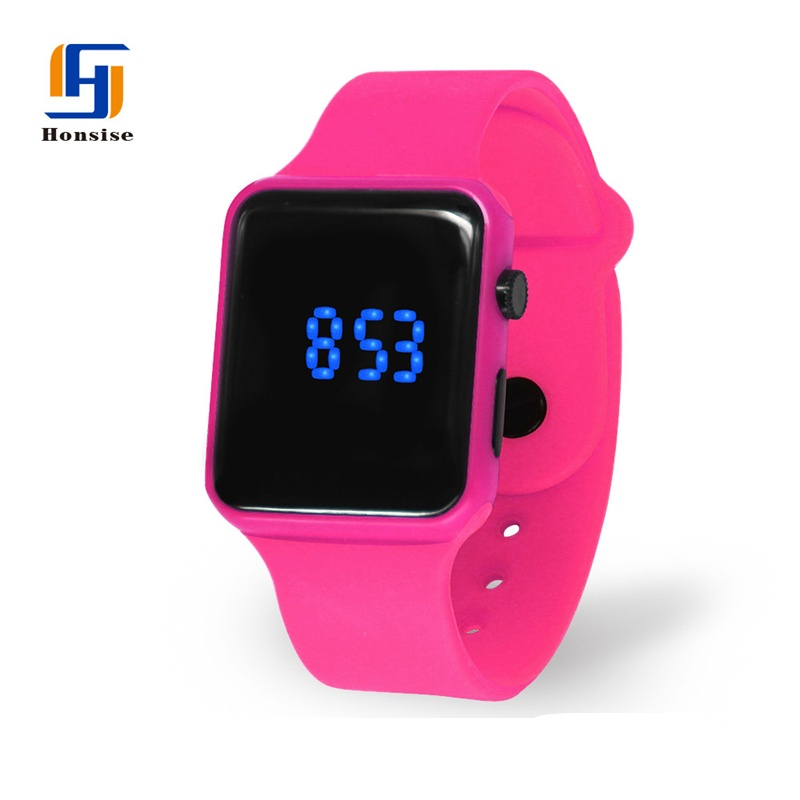 Fancy Ladies Hand Touch Digital LED Watch