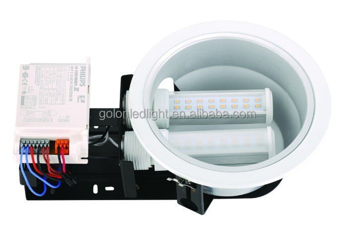 9W G24 LED PL lamp replace 18W CFL 2 U tube G24D g24Q E27 G23 B22 low price high quality 3 years warranty g24 led bulb