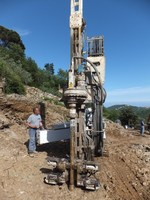 CMV MK420 M used drilling rig for micropiles