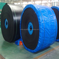 Hot Vulcanized for splicing EP Canvas Heat Resistant Conveyor Belt