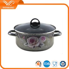 China factory direct made enamel die cast nonstick kinox cookware
