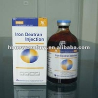 High Quality Iron Dextran 20% Injection Pharmaceutical Drugs for vet use only