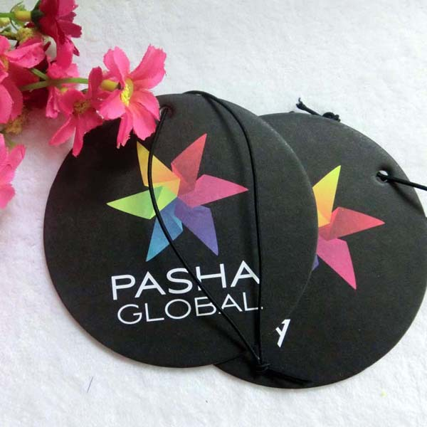 OEM custom logo car freshener, custom hanging car freshener