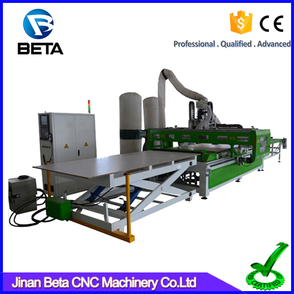 Good quality nesting system cnc metal machine Syntec control system for bed manufacturing
