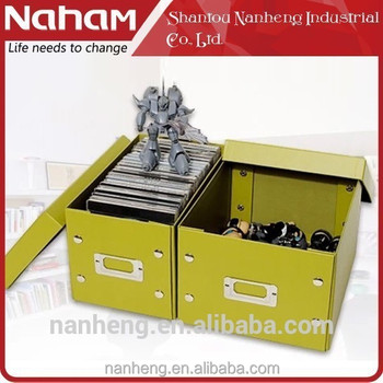 HAHAM decorative cardboard ornament storage boxes with lids