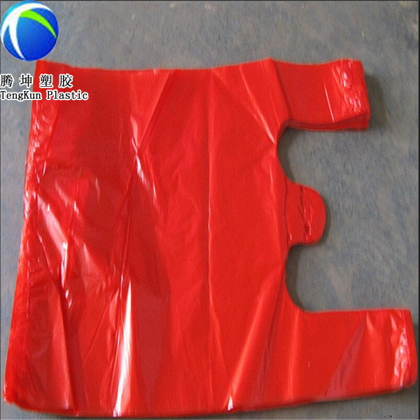 Hdpe custom printed t shirt plastic bags wholesale buy t for Personalized t shirt bags