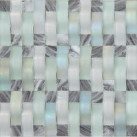 crystal square wall decoration mosaic tile building material