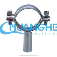 stainless steel pipe clamp for welding alignment