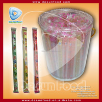 2016 hot selling assorted fruit jelly stick candy,jelly bar with cheap price