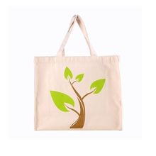 China factory custom made organic cotton canvas tote calico bag