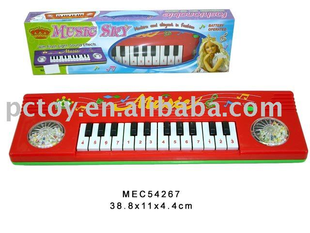 Electronic Organ W/Light