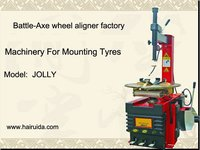 Battle-Axe JOLLY tyre mounting machine for tire changing shop and car service station with CE&ISO
