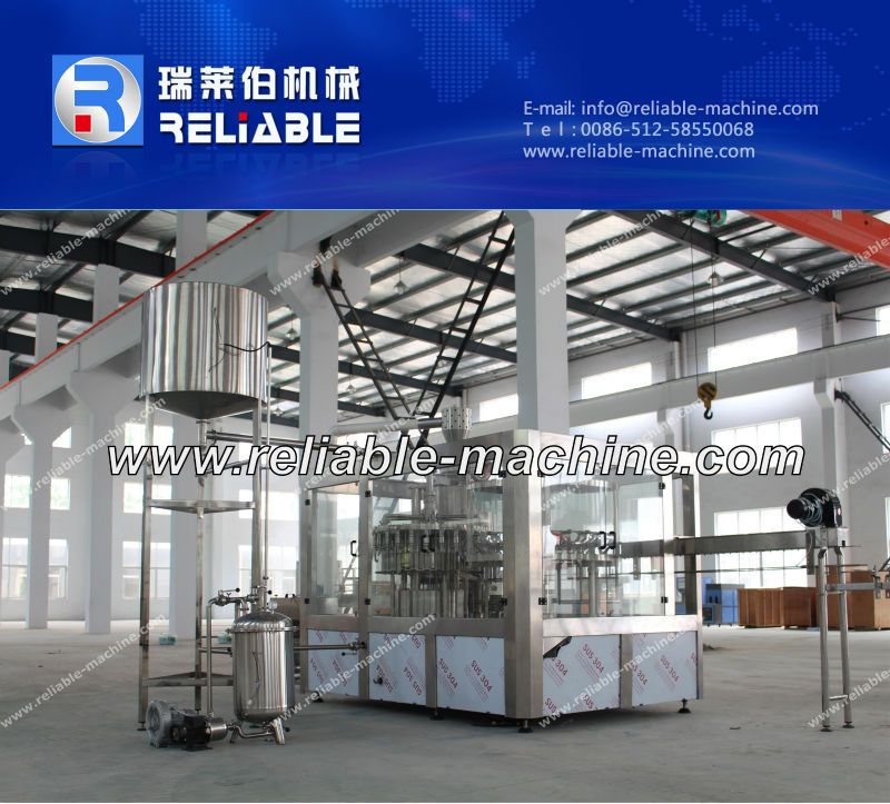 3 in 1 Ice Tea Making Equipment/Tea Drink Filling Machine