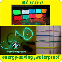 Very cheap price wholesale the 3rd generation high bright neon light glowing el wire